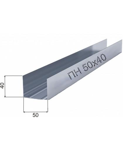 Направляющая для профиля PROFILE  50/40   0.4мм * 3м