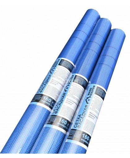 Сетка фасадная Wand Master PRO синяя (20м)