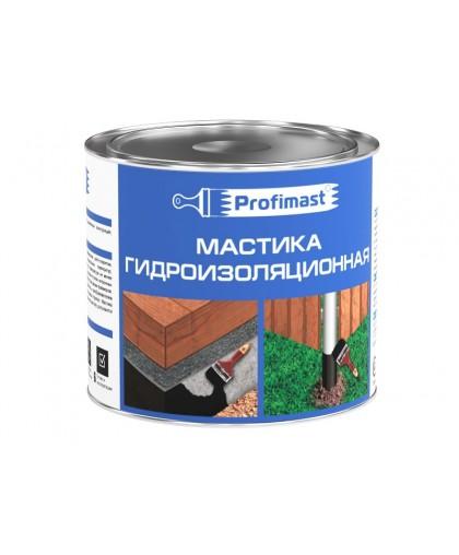 Мастика гидроизоляционная New Profimast (2л/1,8 кг)